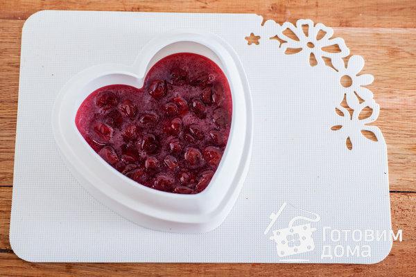 "Торт ""Пурпурное сердце"" – кулинарный рецепт"
