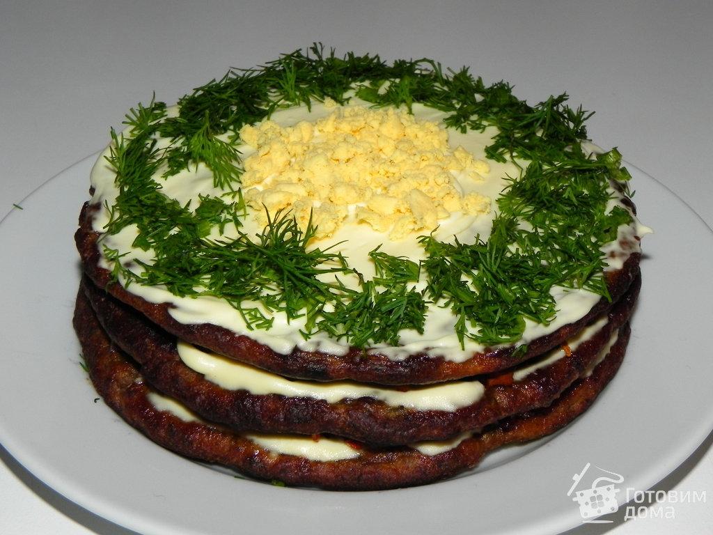 Как сделать печеночный торт рецепт с фото пошагово 661