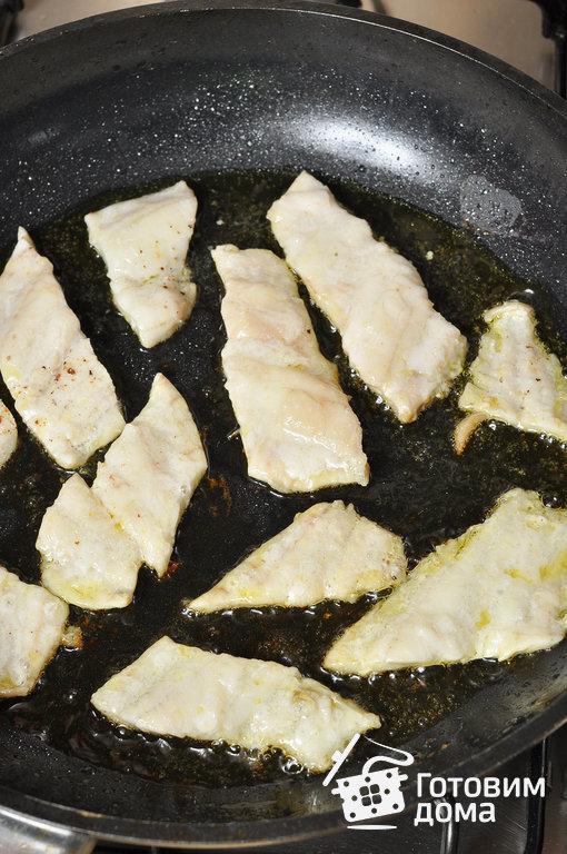 """Рыба под соусом """"Бер-блан"""" - пошаговый рецепт с фото на Готовим дома"""