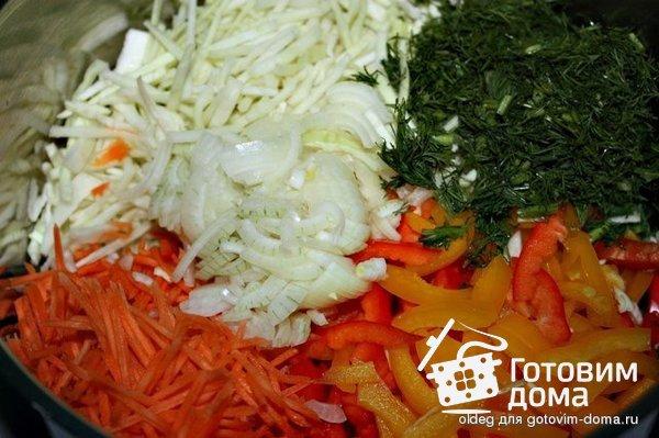 кулинария рецепты чтоб мог рибёнок приготовить из овощей салат