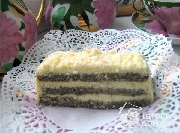 "Маковый торт ""Царица Эстер"" фото к рецепту 6"