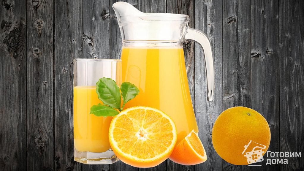Рецепт лимонада апельсинового
