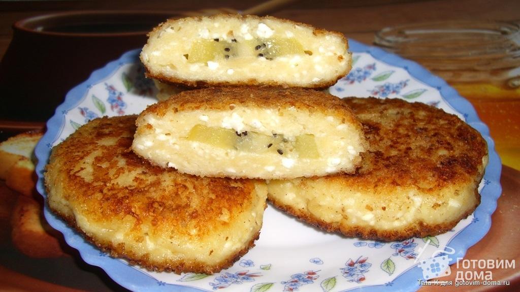 Сырники в разрезе