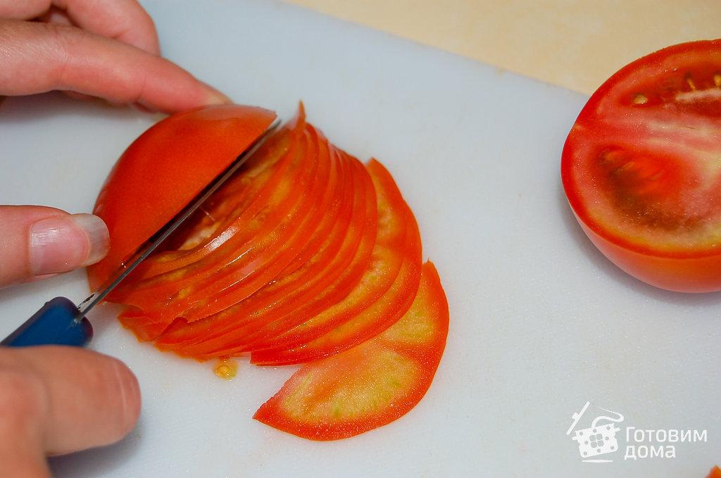 Как сделать резанные помидоры 373