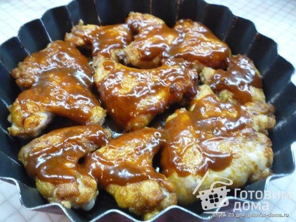 Острые куриные крылышки Баффало фото к рецепту 5
