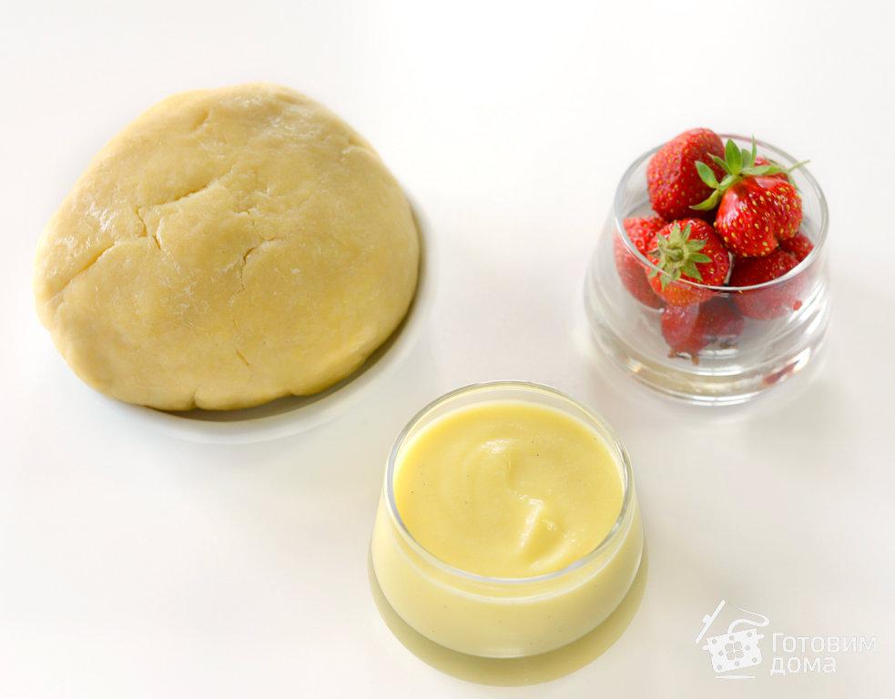 Тарталетки с заварным кремом и клубникой - пошаговый рецепт с фото на Готовим дома