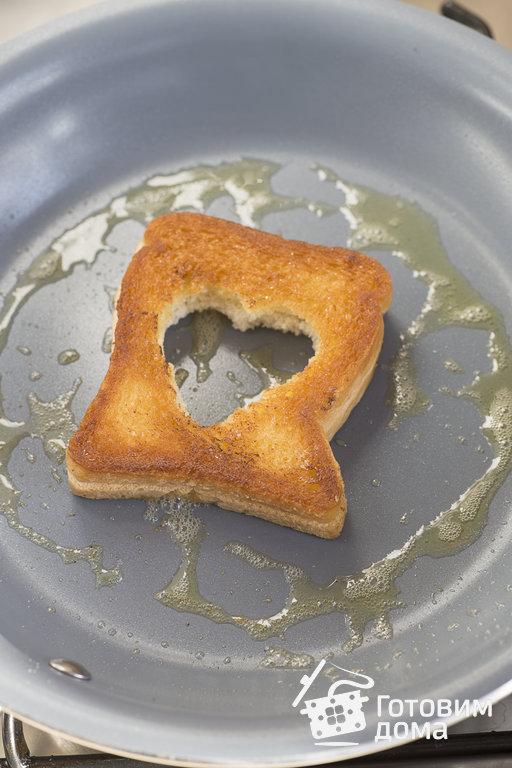 Яичница в хлебе - пошаговый рецепт с фото на Готовим дома
