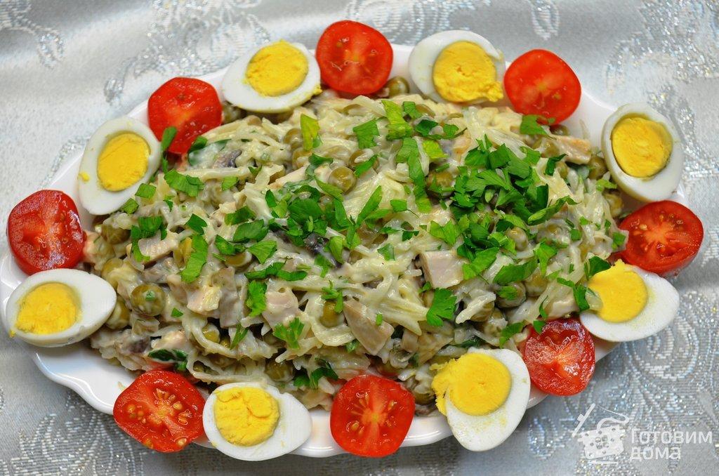 салат игривый цыпленок рецепт