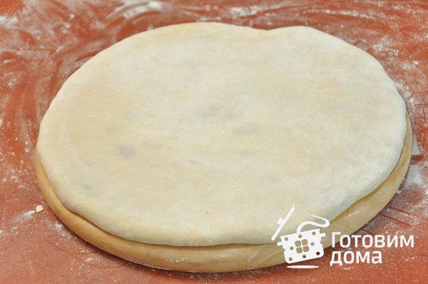 Фыдджын (осетинские пироги с мясом) фото к рецепту 15
