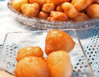 Лукумадэс (Λουκουμαδες) Греческие пончики