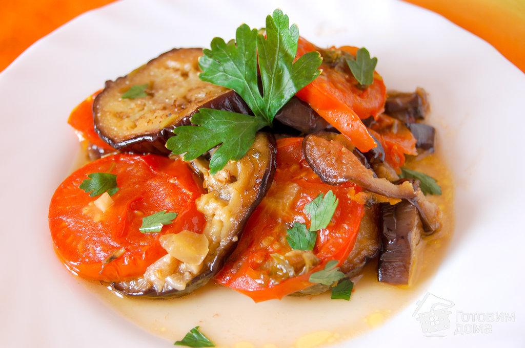 салат соте из баклажан рецепт с фото