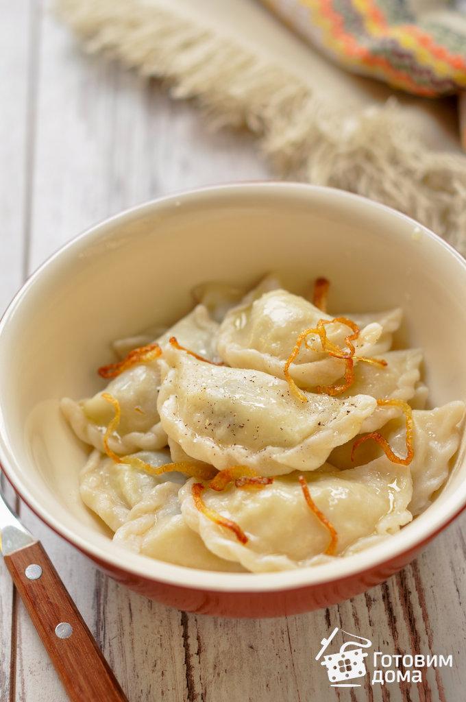Постное тесто для вареников с картошкой