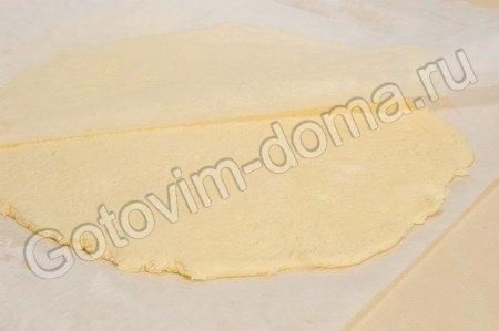 Слоеное бездрожжевое тесто фото к рецепту 6