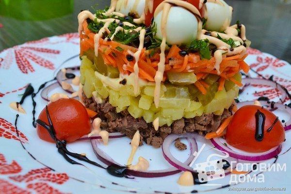 Рецепты салатов для ресторанов