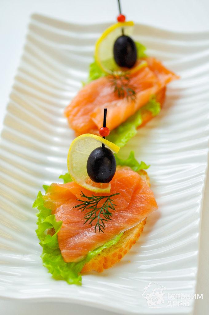 рецепт бутерброды с рыбкой