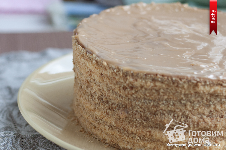 Торт рыжик крем рецепт с пошагово