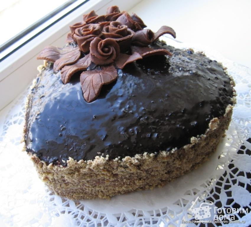 торт шифоновая прага рецепт с фото