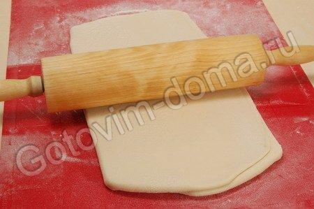 Слоеное бездрожжевое тесто фото к рецепту 14