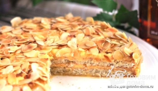 классический шведский миндальный торт рецепт с фото
