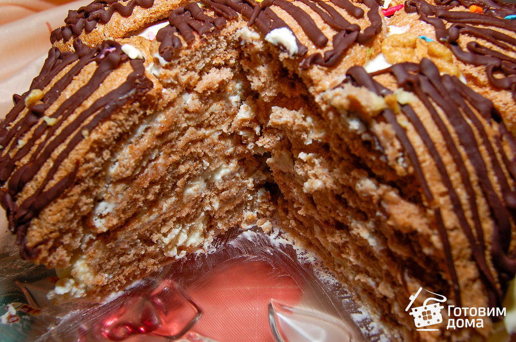 торт черепаха рецепт едим дома