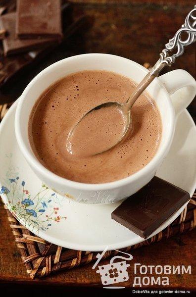 Xocoatl - Горячий шоколад индейцев майя фото к рецепту 6