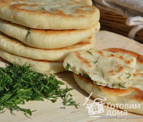 готовая узбекская лепешка с сыром рецепт