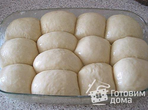 Сдобные булочки по ГОСТу фото к рецепту 1