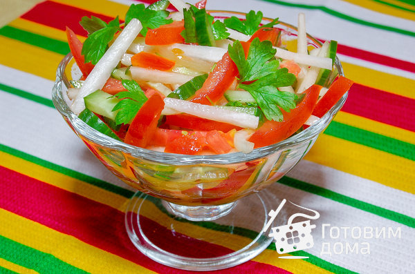 салат с редькой рецепты
