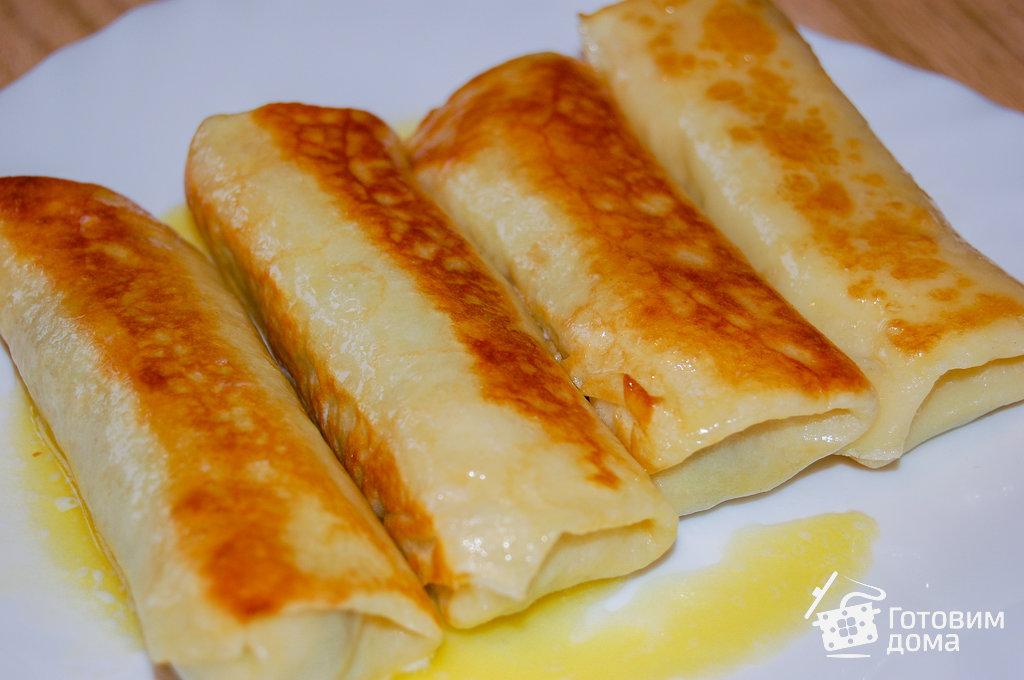 блины с яичной начинкой рецепты с фото