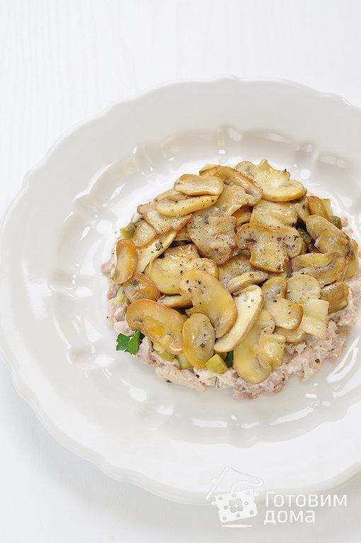 салат с курицей огурцами рецепт с фото