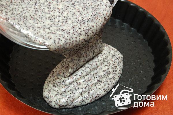 Штрицель с маком и орехами – кулинарный рецепт