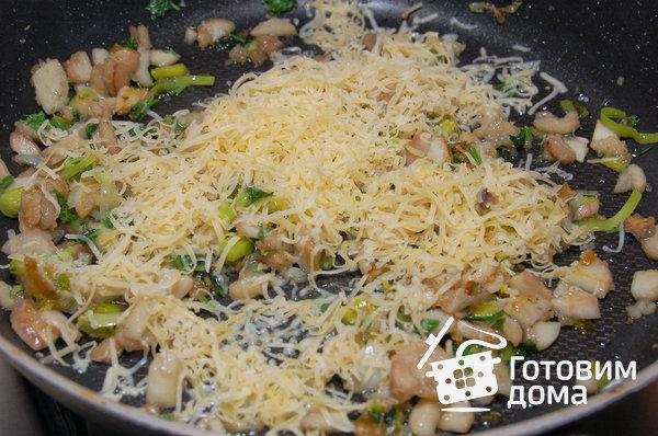 Фаршированные грибы с сыром: сытное блюдо на ужин (Фото)
