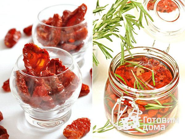 Вяленые помидоры в масле рецепт