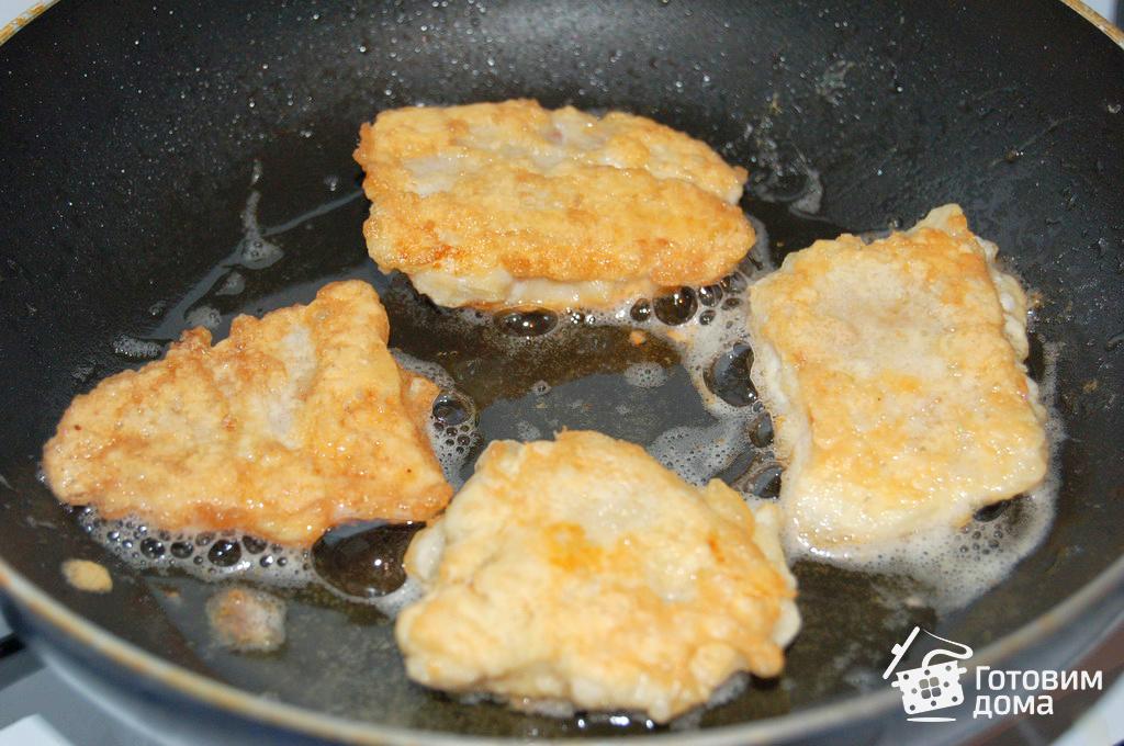 рыба с яйцом на скавародке рецепт