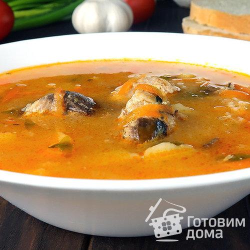 Рецепт супа с сардинами консервой
