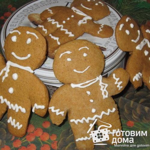Печенье пряничные человечки рецепт