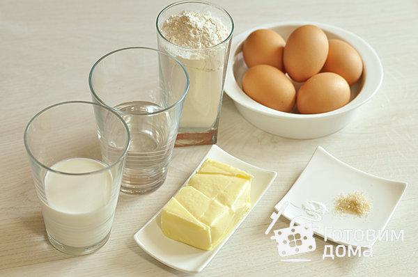 Эклеры (Заварное тесто) фото к рецепту 1