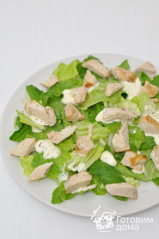 Окей google рецепт салата цезарь