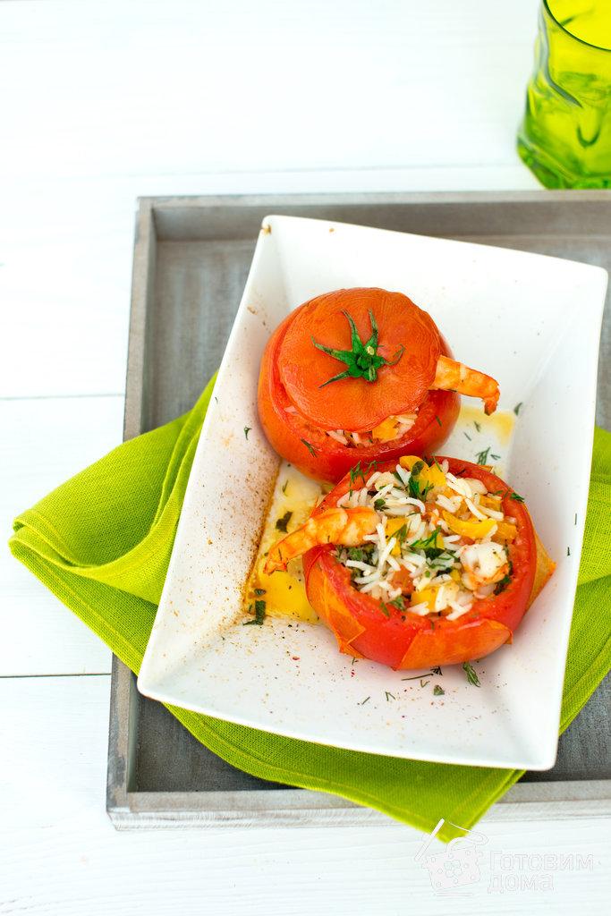 постные фаршированные помидоры