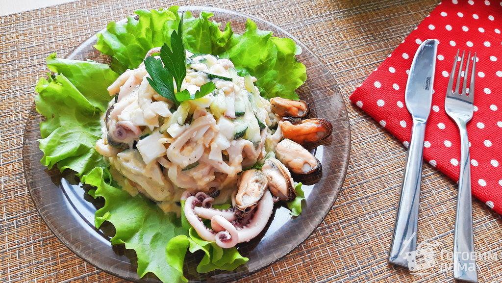 Рецепты с морским коктейлем едим дома
