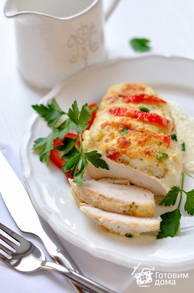 Вторые блюда из куриной грудки в духовке рецепты с фото