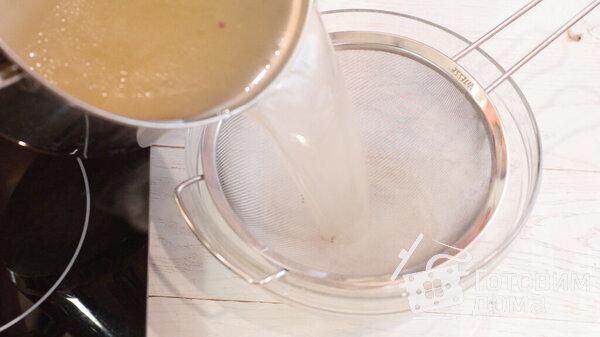 Фотографии куриного супа с лапшой для рецепта 5