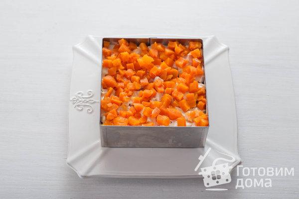 Оливье с курицей фото к рецепту 6