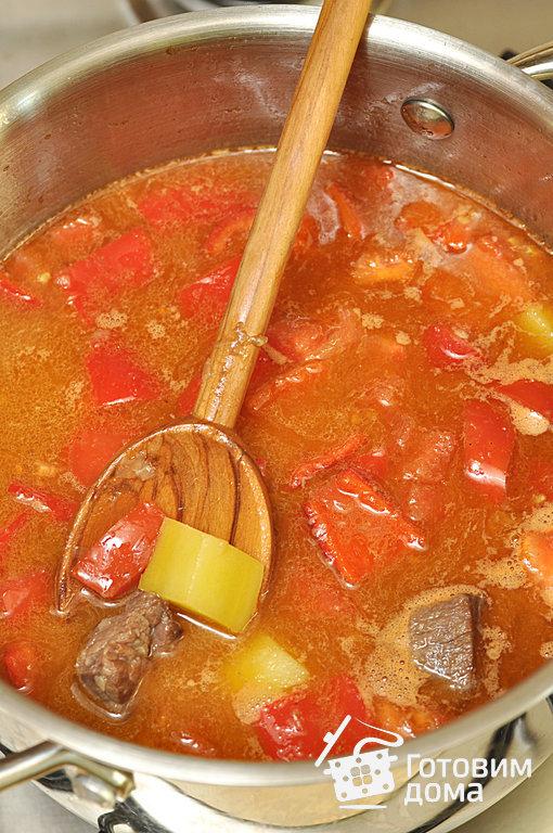 рецепт супов из говядины венгерский
