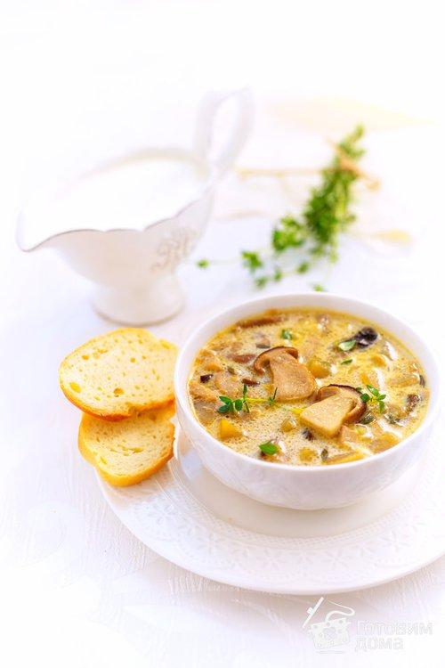 суп с сыром и сливками рецепт с фото
