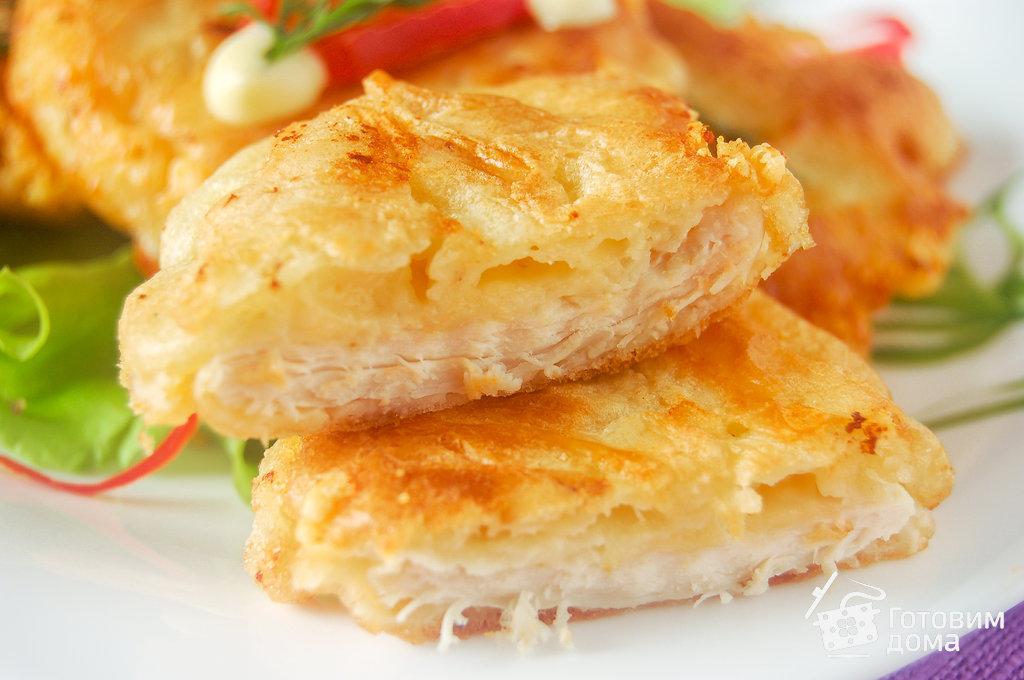 куриные отбивные с сыром рецепт с фото на сковороде