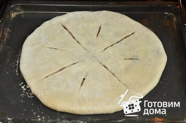 Фыдджын (осетинские пироги с мясом) фото к рецепту 17