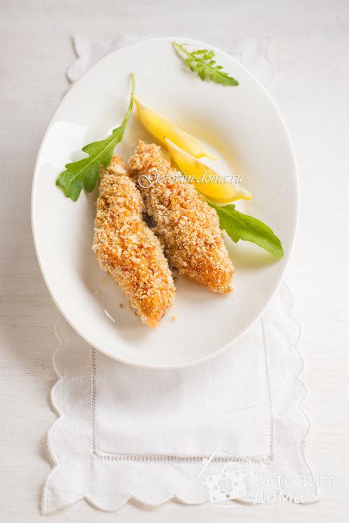 Филе лосося в панировке (от Джейми Оливера)