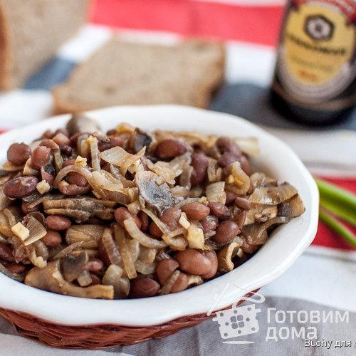 теплые салаты рецепты с фото с грибами и