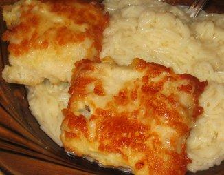 Рыба, жаренная в сыре